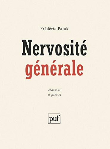 9782130518549: Nervosit� g�n�rale : Chansons et po�mes