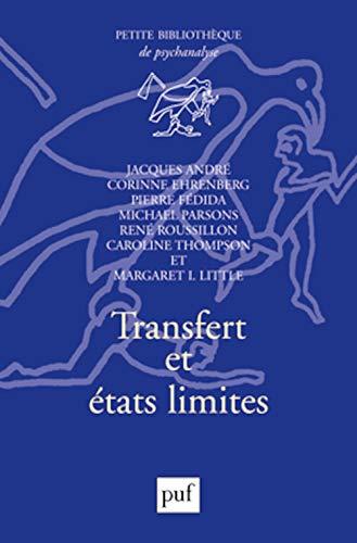 9782130519201: Transfert et états limites