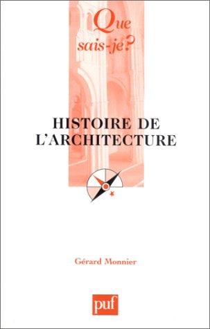 9782130519362: Histoire de l'architecture
