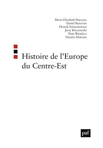 9782130520030: l'histoire de l'europe du centre-est