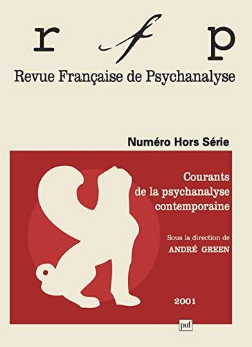 Revue française psychanalyse 2001 H.S.: Green, André