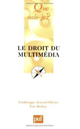 9782130520634: Le Droit du multimedia, 3e édition