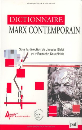 9782130520825: Dictionnaire Marx contemporain