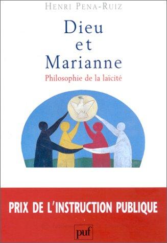 9782130520962: Dieu et Marianne : Philosophie de la la�cit�, 2e �dition