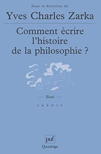 9782130521556: Comment écrire l'histoire de la philosophie ?