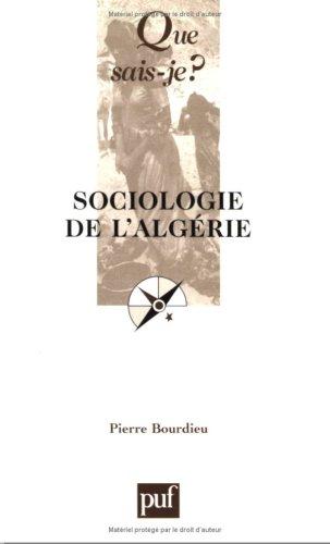 9782130521754: Sociologie de l'Algérie