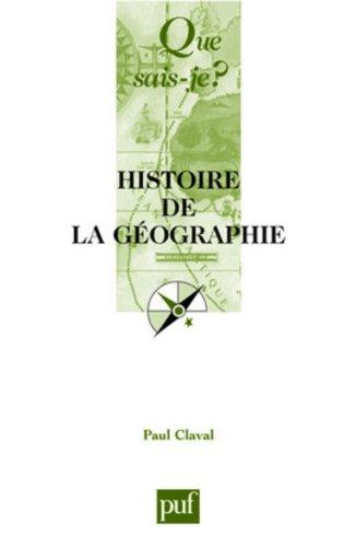 9782130521815: Histoire de la géographie