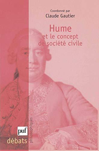 Hume et le concept de société civile: Gautier, Claude