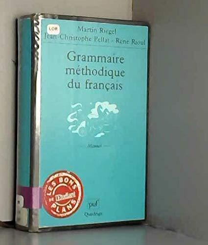 9782130522096: Grammaire méthodique du français (Quadrige)