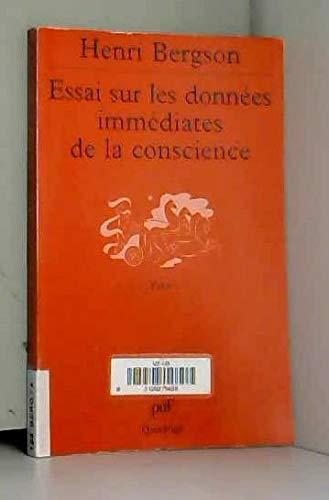 9782130522942: Essai sur les données immédiates de la conscience