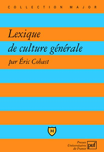 9782130523369: Lexique de Culture Generale