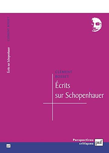 9782130523543: Ecrits sur Schopenhauer