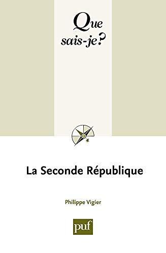 9782130523598: La Seconde république