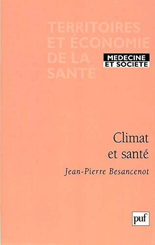 Climat et santé: Besancenot, Jean-Pierre