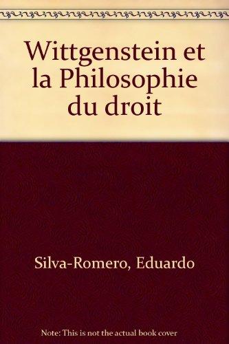 9782130524045: Wittgenstein et la Philosophie du droit