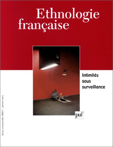 Ethnologie française 2002 n 1 (French Edition): Collectif