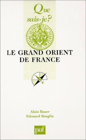 9782130527435: Le Grand Orient de France