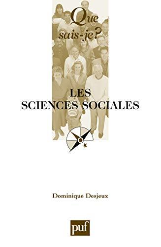 Sciences sociales (Les): Desjeux, Dominique
