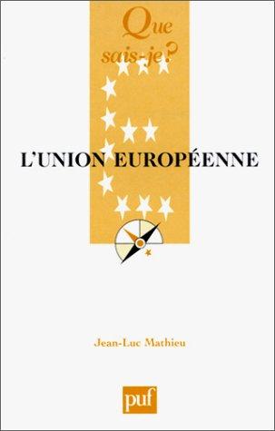 9782130527664: L'Union européenne