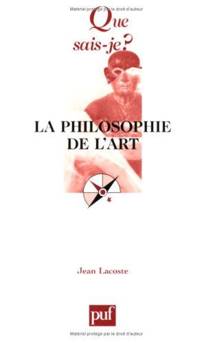 9782130527749: La Philosophie de l'art