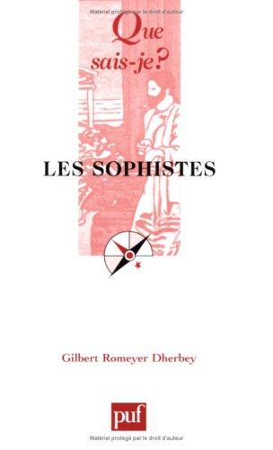 9782130530558: Les Sophistes