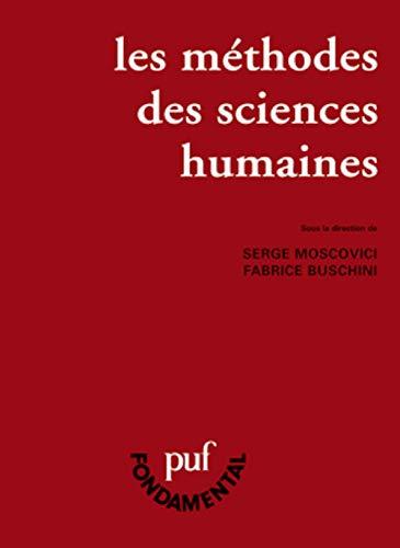 9782130530664: Les Méthodes des sciences humaines