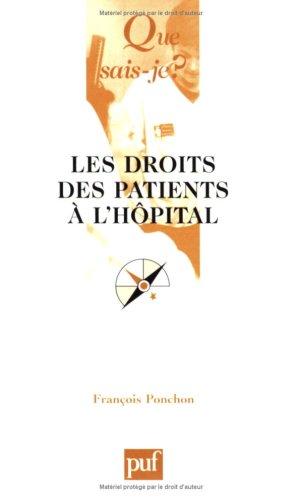 9782130531005: Les Droits des patients � l'h�pital