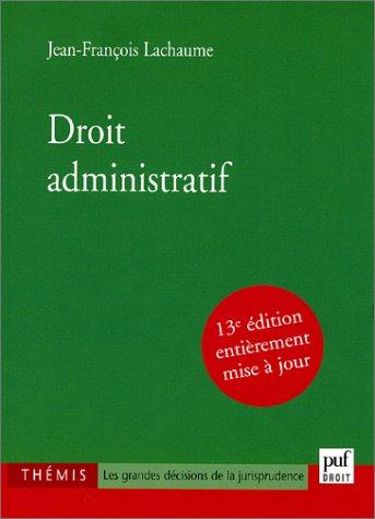 9782130531845: Droit administratif