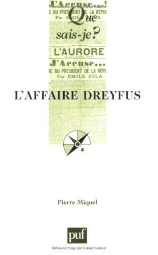 9782130532262: L'Affaire Dreyfus