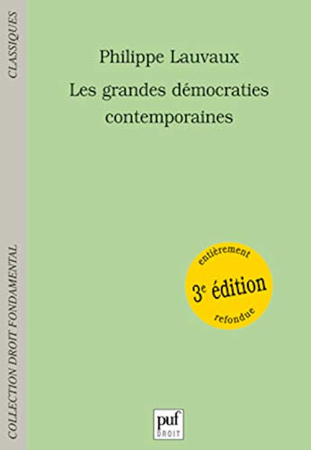 9782130532484: Les Grandes Démocraties contemporaines