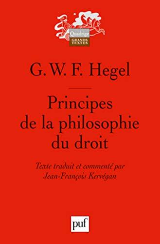 Principes de la philosophie du droit: G. W. F.