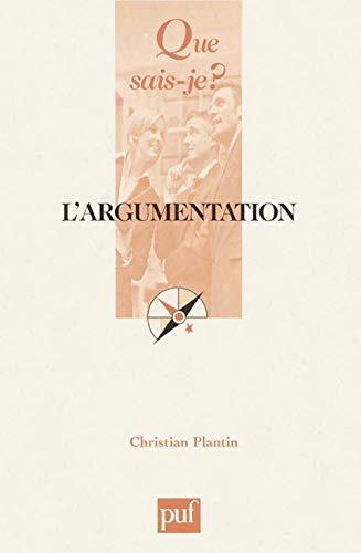 9782130534211: L'argumentation (French Edition)