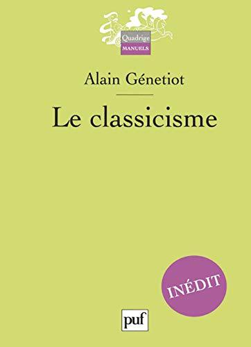 9782130534983: le classicisme