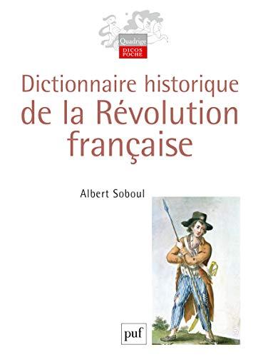 9782130536055: Dictionnaire historique de la Révolution française