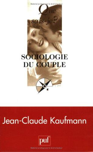 9782130536567: Sociologie du couple