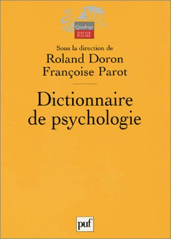 9782130537335: Dictionnaire de psychologie (Quadrige. Dicos poche)