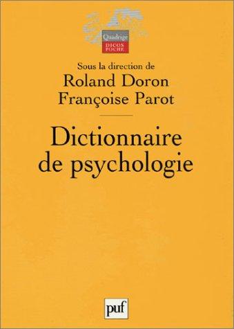 9782130537335: Dictionnaire de psychologie