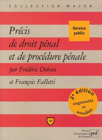 9782130538059: Précis de droit pénal et de procédure pénale