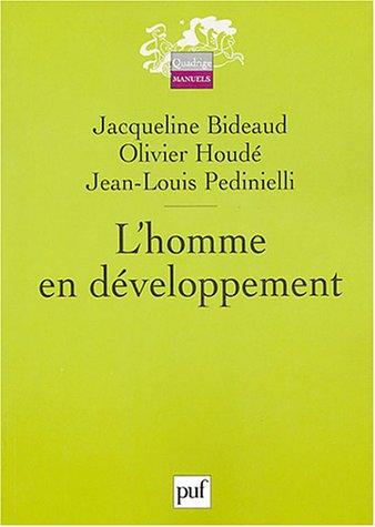 9782130538424: L'homme en développement (French Edition)