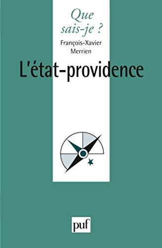 9782130539353: L'Etat-providence (Que sais-je ?)