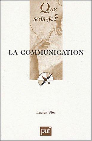 9782130542131: La Communication
