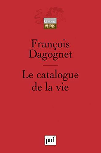 9782130542346: Le catalogue de la vie : Etude méthodologique sur la taxinomie