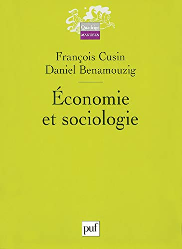 Economie et sociologie: Cusin, Fran�ois