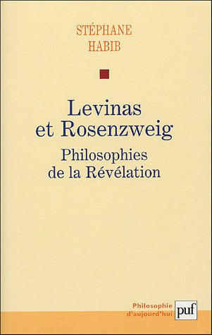 9782130543213: Levinas et Rosenzweig (French Edition)
