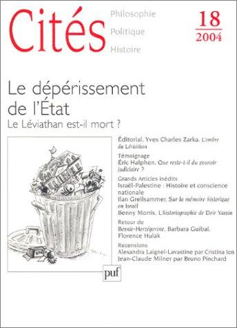 Revue Cités, no 18: Collectif