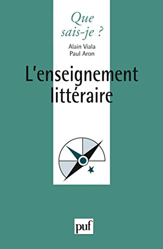 Enseignement littéraire (L'): Aron, Paul