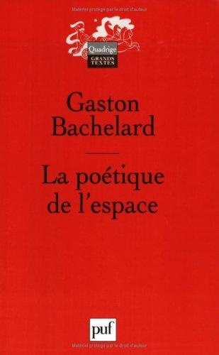 9782130544449: LA Poetique De L'Espace