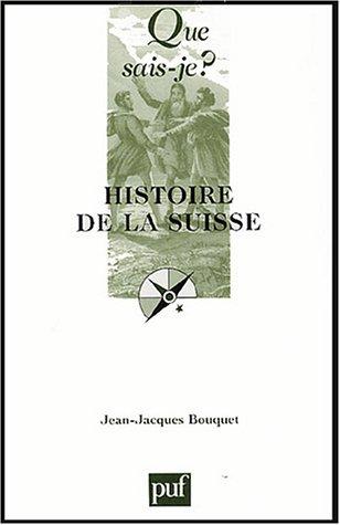 9782130545002: Histoire de la Suisse