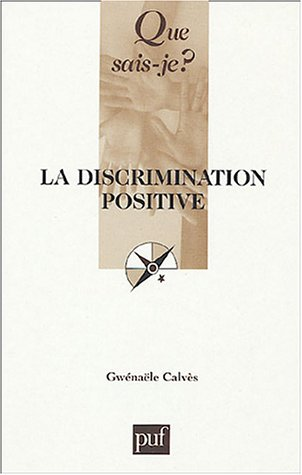 9782130545033: La discrimination positive