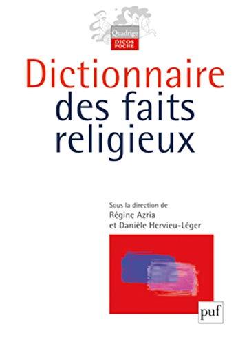 9782130545767: Dictionnaire des faits religieux (Quadrige)